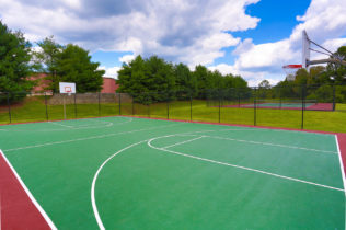 Bel Air Apartments Basketball Court